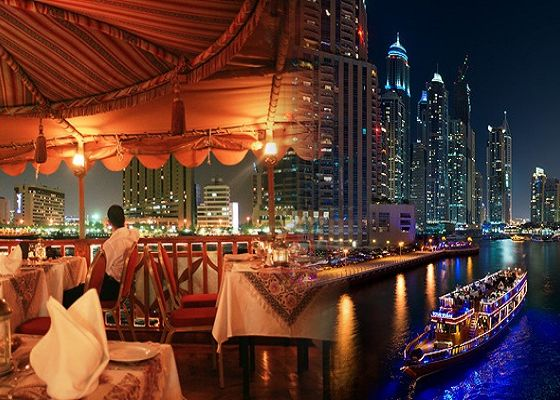 Dhow Cruise Dinner at The Creek