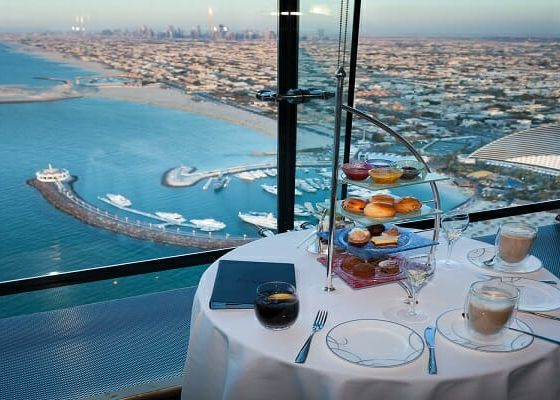 Afternoon High Tea at Burj Al Arab